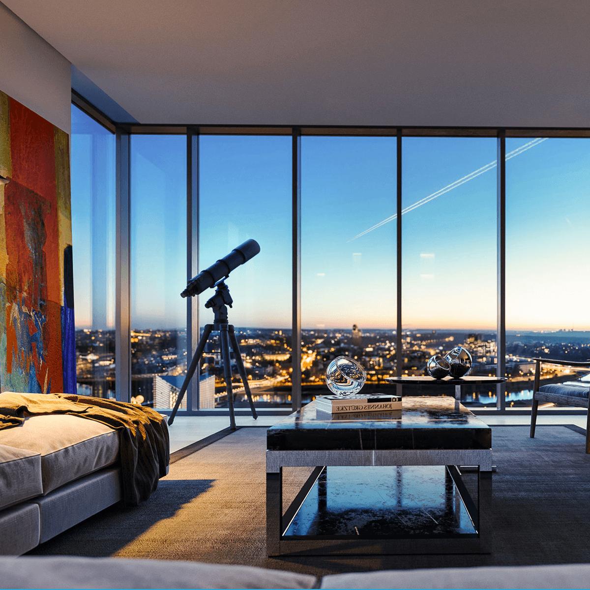Tower apartamentai